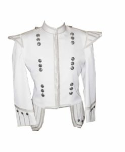 White piper doublet, piper doublets, doublets, stylish doublets.