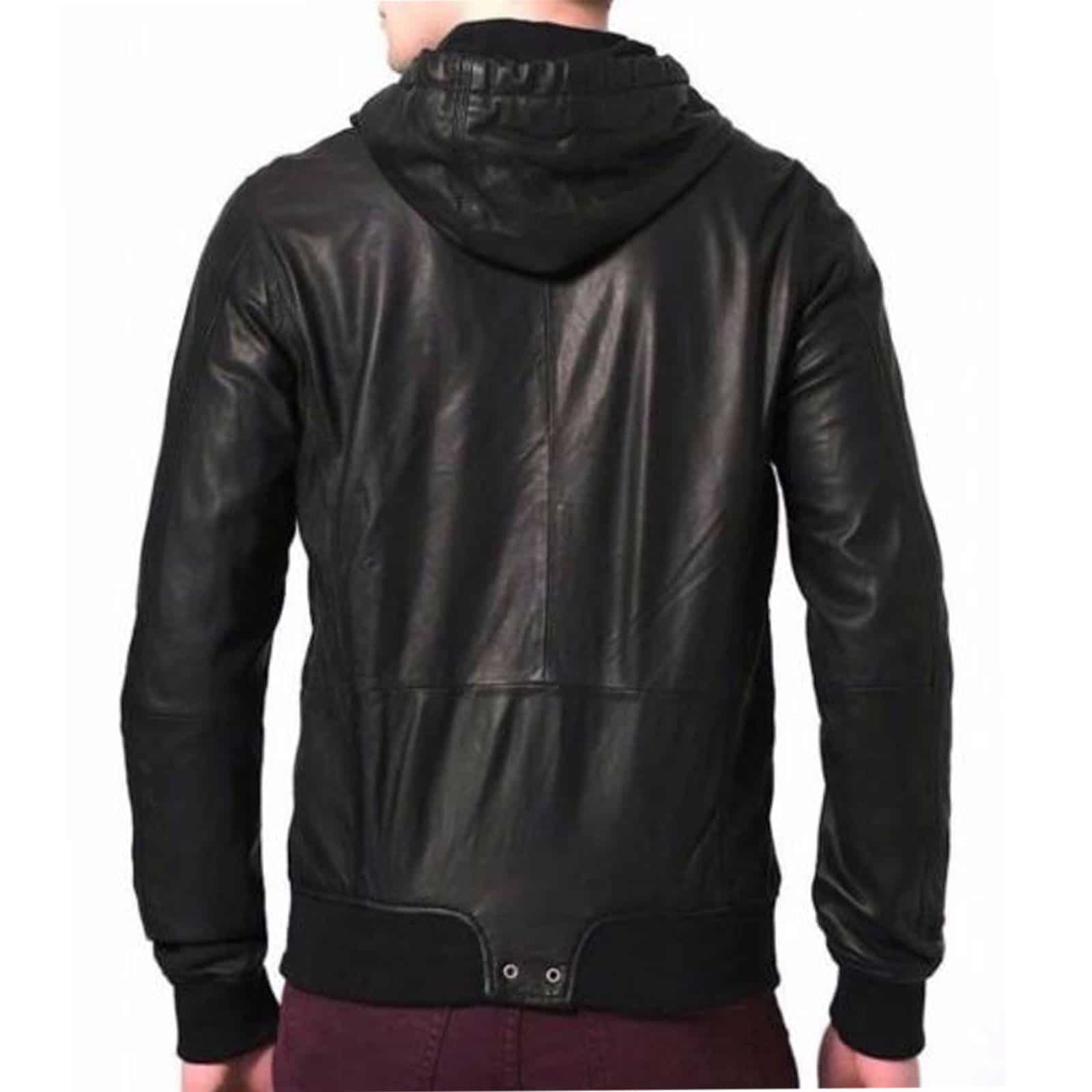 Red Leather Jackets Mens