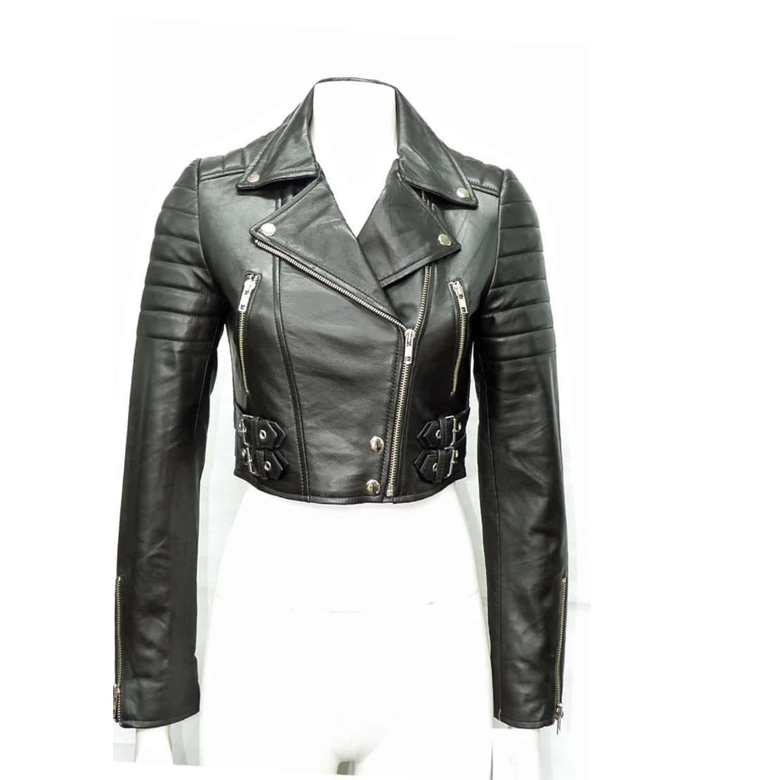 524757f9c62 2018 2017 Winter Coat Women Casual Black Leather Jacket Women Long Sleeve  Motorcycle Jacket Letter Womens Clothing From Cagney