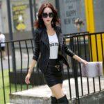 Short-Leather-Blazer-Coat-Jacket-for-Women-black