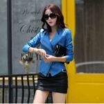 Short-Leather-Blazer-Coat-Jacket-for-Women-blue