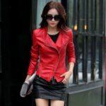 Short-Leather-Blazer-Coat-Jacket-for-Women-red