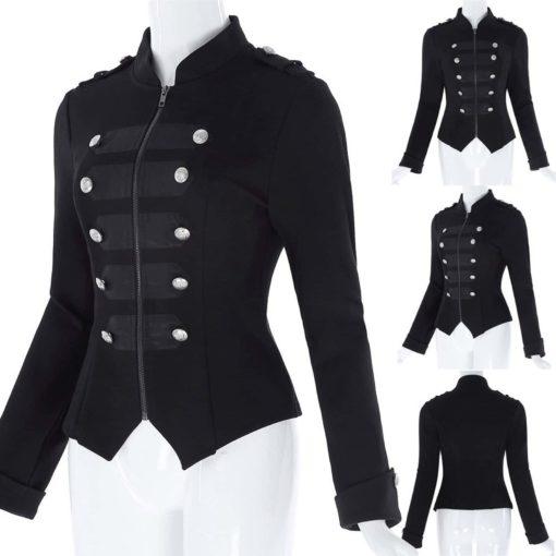 gothic jacket, leather jacket, gothic jacket for women, women gothic Jacket
