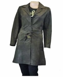 d18c85ce0 Vintage Style Leather Tailcoat Jacket for Women