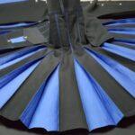 Conquest-Traditional-Black-Blue-Hybrid-Kilt-pleats