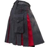 KJ-Black-Red-Hybrid-Kilt-Side-other