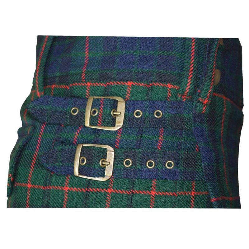 modern gunn tartan kilt, modern gunn tartan, gunn taran utility kilt