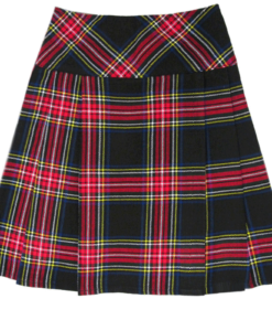 black stewart kilt, black stewart clan, clan sewart, kilt for women, Black Stewark kilt for women, ladies kilt