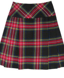 black stewart kilt, black stewart clan, clan sewart, kilt for women, Black Stewark kilt for women, ladies kilt