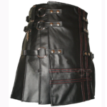Heavy-Leather-Kilts-for-Men-Red-Stitched