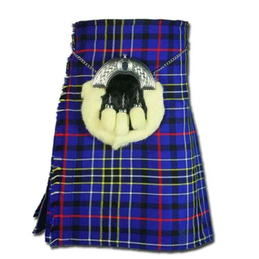 Modern Blue Tartan Kilt, Modern Blue Tartan Kilt for sale, Modern Blue Tartan Kilt for men