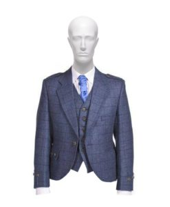 Tweed Argyle Jacket, Stylish Tweed Kilt jacket, Kilt Jacket, Tweed Jacket for Men