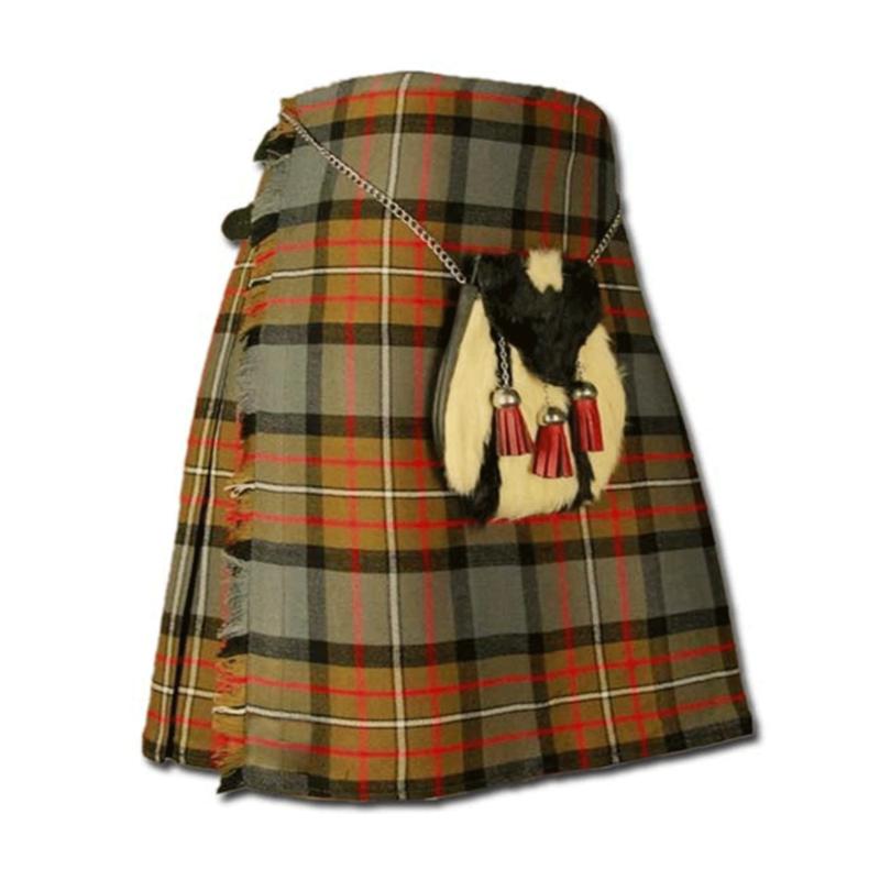 Weathered Tartan Kilt, Weatherd tartan, scottish traditional tartan, kilt for men