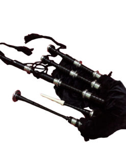 Bagpipe Black Mounts, Bagpipe Black Mounts for sale, Bagpipe Black Mounts sale