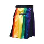 Modern-Gay-Pride-Rainbow-Kilt-side