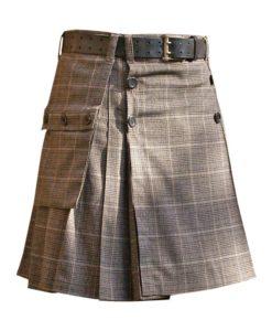 Prince of Wales kilt, Prince of Wales modern kilt, Modern kilt for men, Mens Modern kilt