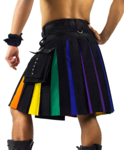 Rainbow kilts, Rainbow kilts for sale, Buy Rainbow kilt, multi color kilt