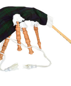 Rosewood Blackwatch Tartan Mini Bagpipe, Rosewood Blackwatch Tartan Mini Bagpipe for sale, Mini Bagpipe, Bagpipe for kids