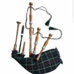 Rosewood-Gunn-Tartan -Highland -Bagpipe
