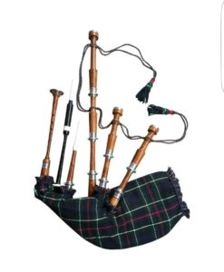 Rosewood Mackenzie Tartan Bagpipe, Mackenzie Tartan bagpipe, Rosewood bagpipe