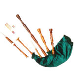Rosewood Highland Bagpipe Green