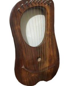 Simple rosewood lyre harp, rosewood lyre harp, Lyre Harp, Roswood Harp, Lyre Harp