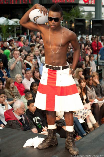 St George's Cross Kilt, St George's kilt, England Flag kilt, Kilt for men