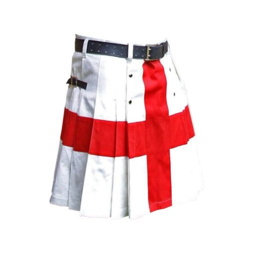 St George's Cross Kilt, St George's kilt, England Flag kilt, Kilt for men