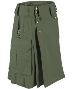 Tactical kilt, Green tactical kilt, Tactical kilt by kilt and Jacks