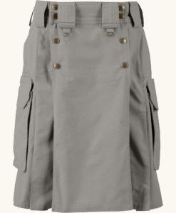 Tactical kilt, Grey tactical kilt, Tactical kilt by kilt and Jacks