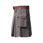 Wool-buttoned-kilt-brown-isde