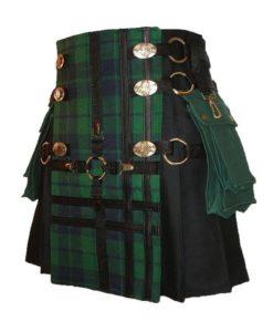 interchangeable kilt, tartan kilt, hybrid kilt, tartan kilt for sale