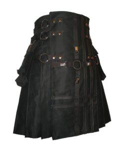 double cross kilt, cross kilt, gothic kilt, utility kilt, kilt for sale