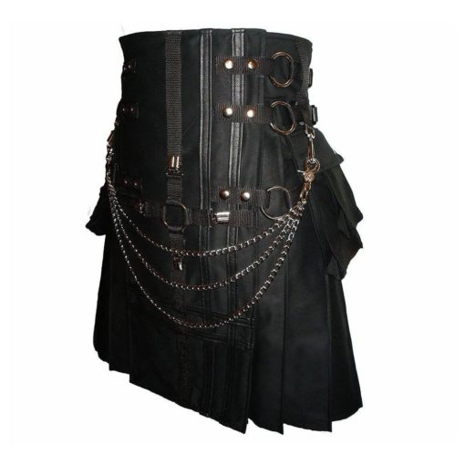 double cross kilt, cross kilt, gothic kilt, utility kilt, kilt for sale