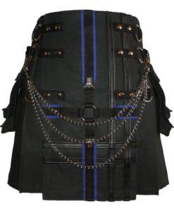 double cross kilt, cross kilt for sale, gothic kilt, double cross kilt,