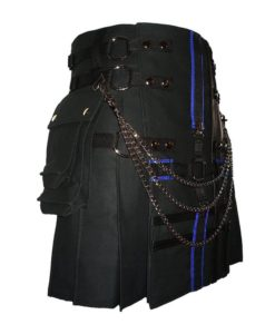 double cross kilt, cross kilt for sale, gothic kilt, double cross kilt,