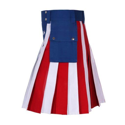 USA flag kilt, American flag kilt, American Kilt, USA kilt, USA flag utility kilt