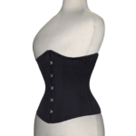 Double-Steel-Boned-Underbust-Cotton-Corset-side