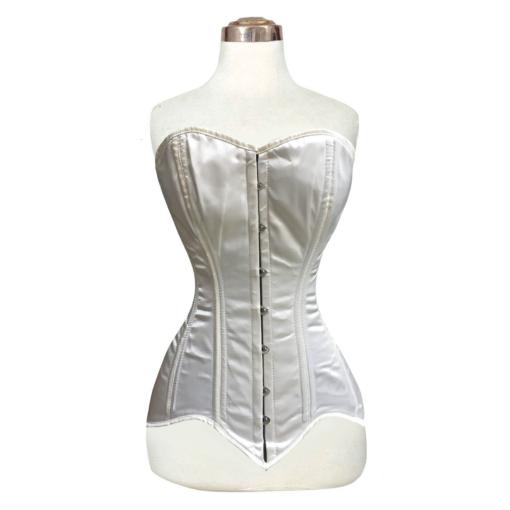 satin corsets, overbust satin corsets, overbust corsets, satin overbust corsets.