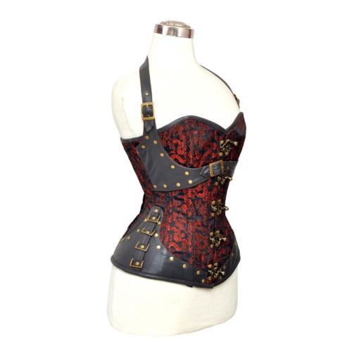 steampunk corsets, punk corsets, overbust corsets, overbust steampunk corsets