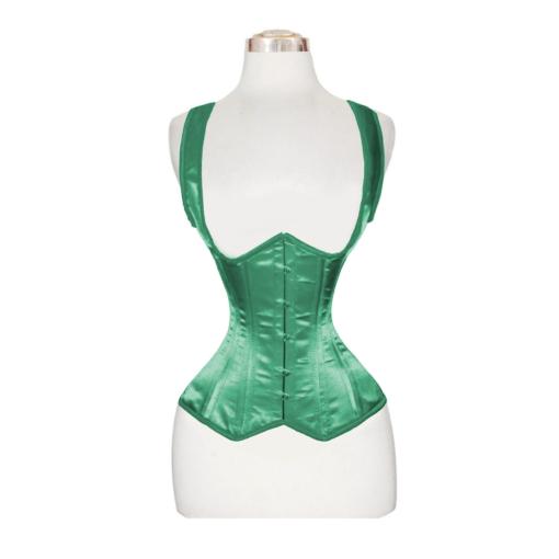 underbust satin corset, satin corset, underbust corset for women
