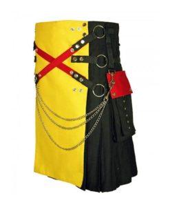 Gothic kilt, fashion kilt, gothic fashion kilt, Kilt for men, hybrid kilt