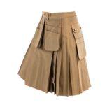 Multi-Pockets-Working-Kilt-khaki