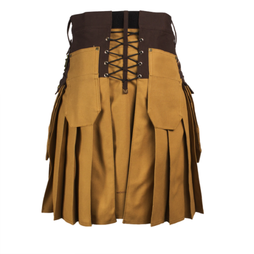 two toned utility kilt, utility kilt, hybrid utility kilt