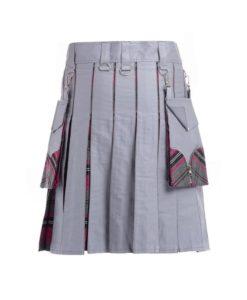 hybrid kilt, tartan hybrid kilt, hybrid utility kilt, kilt for men, hybrid utility kilt