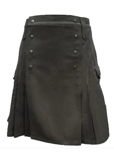 Black kilt, Black Pub kilt, Black pub kilt for sale, kilt for sale, kilt for sale