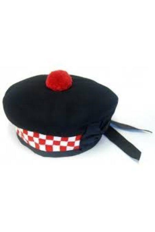 balmoral hats, highland hats, boxed hats