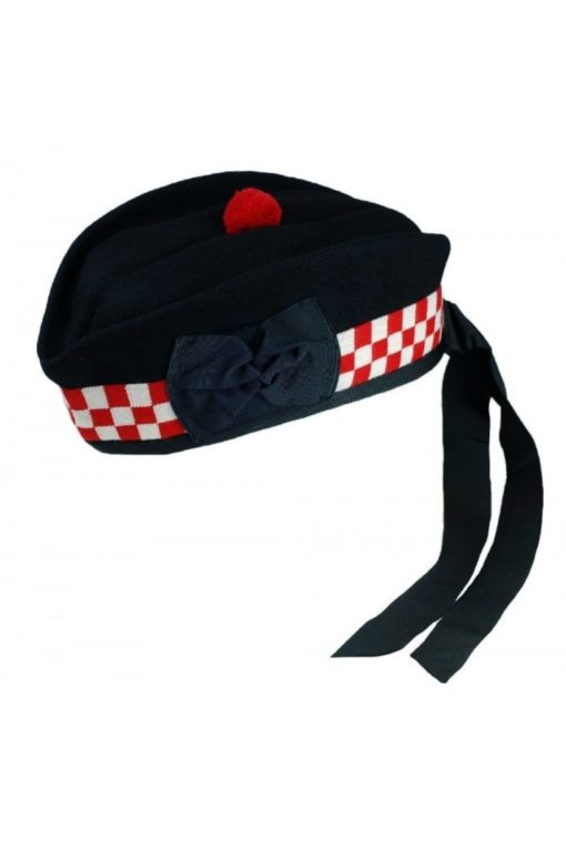 Glengarry hats, Red white hats, Glengarry hat for sale