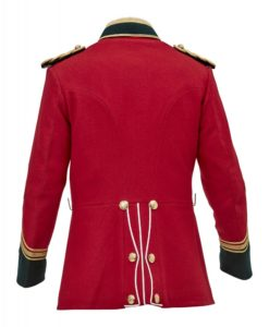 British Military jacket, Tunic circa, Military jacket, 1879 jacket