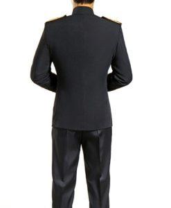 Military jacket, black military jacket, black hussar military jacket, hussar jacket.
